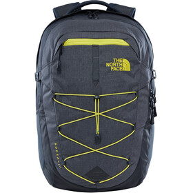The North Face Borealis Backpack 28 L Asphalt Grey White Heather/Blazing Yellow